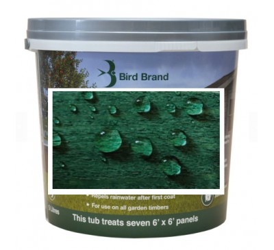 Bird Brand Shed & Fence One Coat Protection Forest Green 5 litres