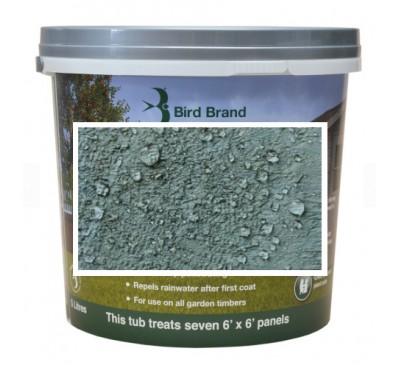 Bird Brand Shed & Fence One Coat Protection Sage Green 5 litres