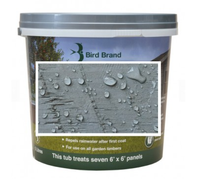 Bird Brand Shed & Fence One Coat Protection Silver Birch 5 litres