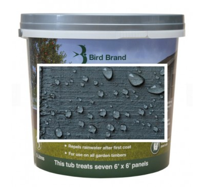 Bird Brand Shed & Fence One Coat Protection Slate Grey 5 litres