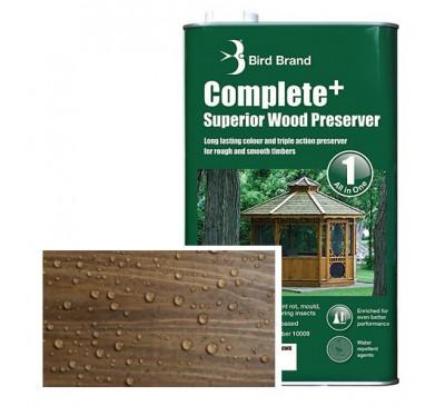 Bird Brand Complete+ Superior Wood PreserverLight Brown 2.5 litres