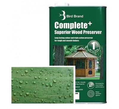 Bird Brand Complete+ Superior Wood PreserverForest Green 2.5 litres