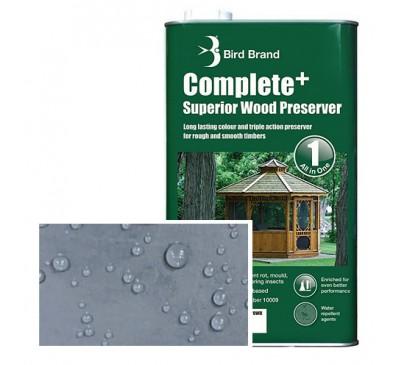 Bird Brand Complete+ Superior Wood PreserverSlate Grey 2.5 litres