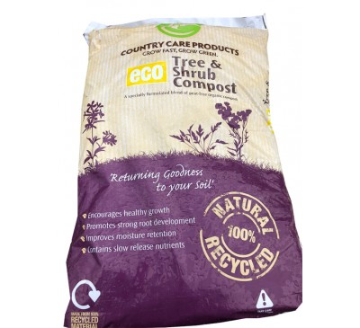 Country Care Products - ECO Tree & Shrub Compost 50ltr