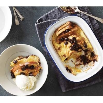 Chocolate Orange Bread & Butter Pudding