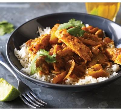 Garlic Chicken Curry (Serves 1)