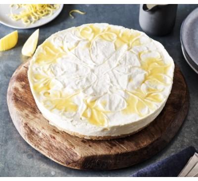 Lemon Cheesecake (Serves 10-12)