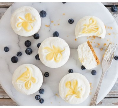 Lemon Cheesecakes (Serves 2)