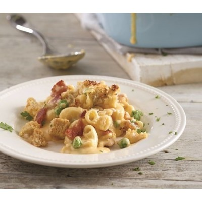 Macaroni Cheese with Bacon (Serves 1)
