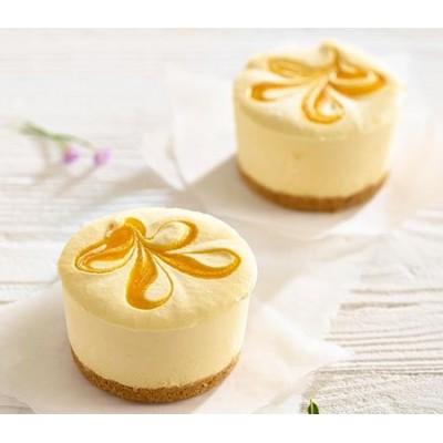 Mango & Passion Fruit Cheesecake (Serves 2)
