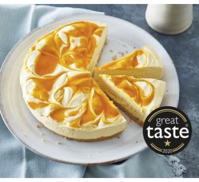Mango & Passion Fruit Cheesecake (Serves 6)