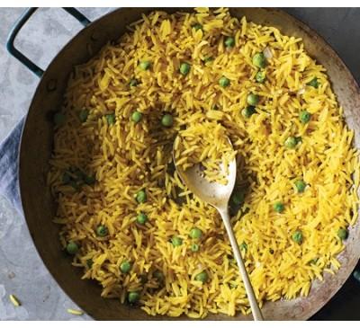 Peas Pilau (Serves 1)