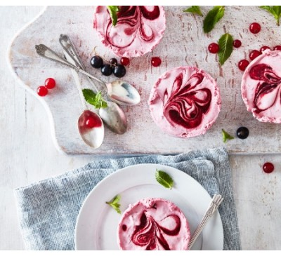 Red Berry Mousse(Serves 2)