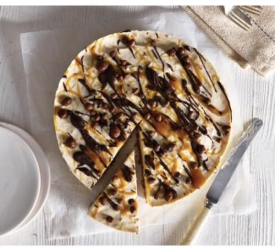 Salted Caramel & Honeycomb Cheesecake(Serves 2)