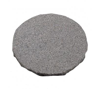Natural Granite Stepping Stone Dark Grey 300mm