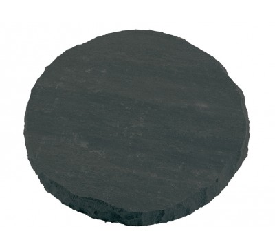 Natural Stone Stepping Stone Charcoal 300mm