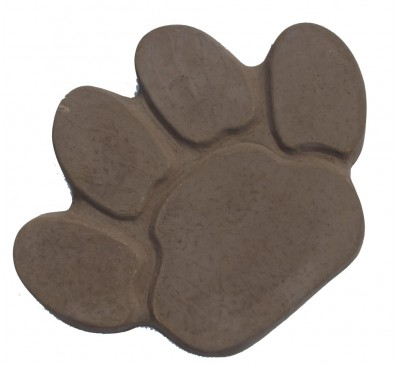 Animal Paw Stepping Stone 400x300mm Twilight