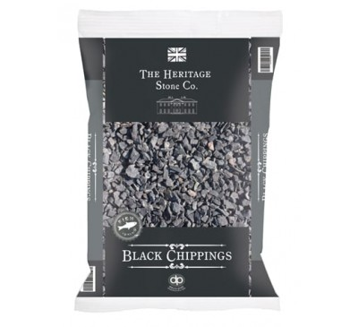 The Heritage Stone Co. Black Chippings 14mm