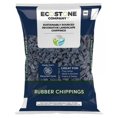 ECO STONE Rubber Chippings 10-20mm