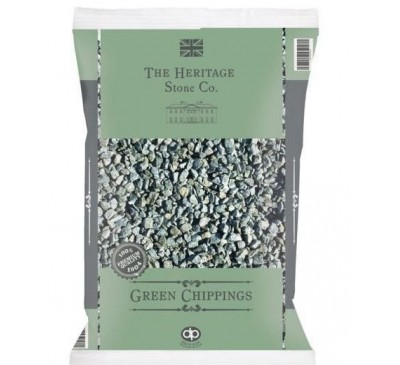 The Heritage Stone Co. Green Chippings 14mm