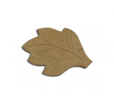 Leaf Stepping Stone 580x420mm Buff Gold
