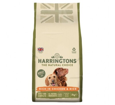 Harrington's Chicken And Rice Dry Dog Food 2kg