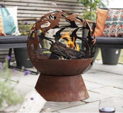 Swallows Globe Firepit