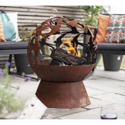 Swallows Globe Firepit