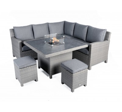 Catania Mini Modular Set with Fire Pit