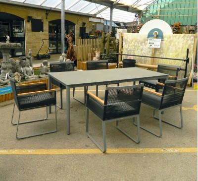 Scorpius Rectangular 6-Seat Dining Set