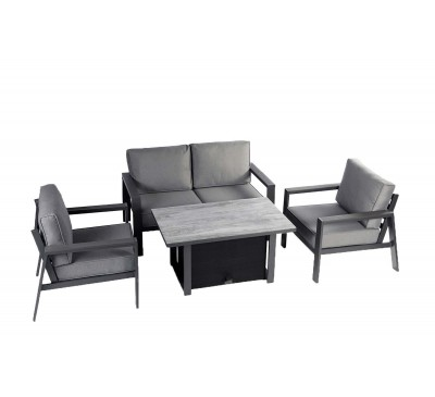 Montefrio Lounge Set with Adjustable Table
