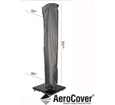 Free Arm Parasol Aerocover 250x55/60
