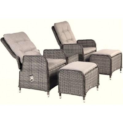 Venosa Dual Reclining Lounge Set