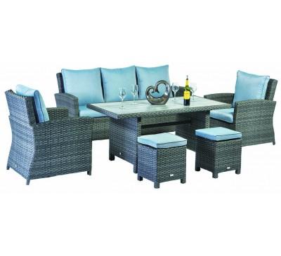 Adria Lounge Dining Set