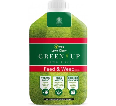 Vitax Lawn Clear Feed & Weed 1L