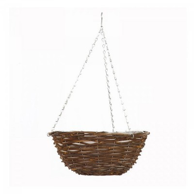 14 inch Rattan Basket Pre-lined