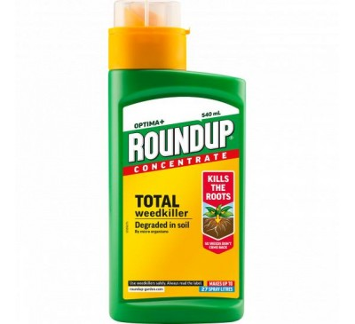 Roundup Optima+ Total Weedkiller Concentrate 540ml
