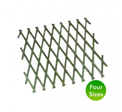 Smart Garden 1.8m Heavy Duty Expanding Trellis Green 0.3 - 1.2m