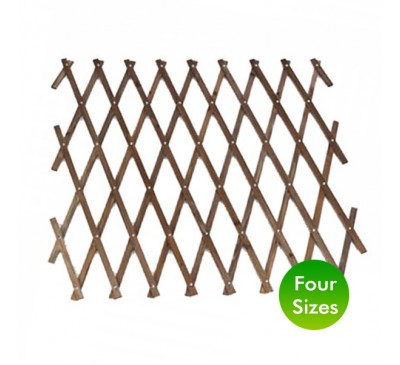 Smart Garden 1.8m Heavy Duty Expanding Trellis Tan 0.3 - 1.2m