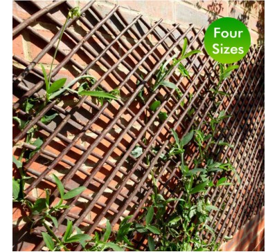 Smart Garden 1.8m Extra Strong Expanding Willow Trellis 0.3 - 1.2m