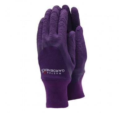 Town & Country Master Gardener Purple Gloves Medium