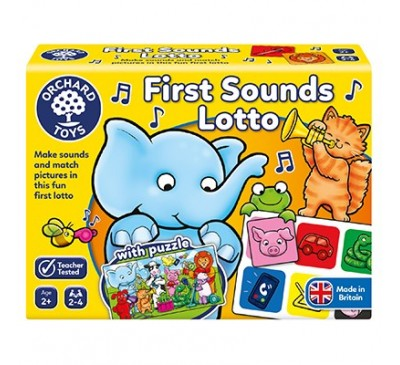 Orchard Toys First Sounds Lotto Game with Puzzle