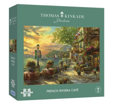 Gibsons French Riviera Café 1000 Piece Jigsaw Puzzle