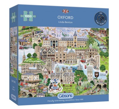 Gibsons Oxford 1000 Piece Jigsaw Puzzle