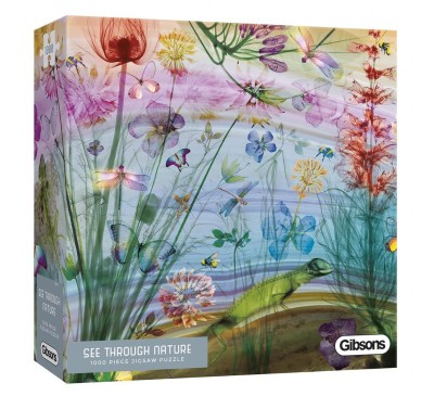 Gibsons See Through Nature 1000 Piece Jigsaw Puzzle