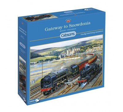 Gibsons Gateway to Snowdonia 1000 Piece Jigsaw Puzzle