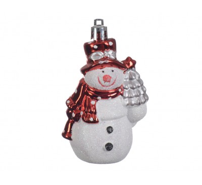 Shatter Proof Snowman With Hanger
