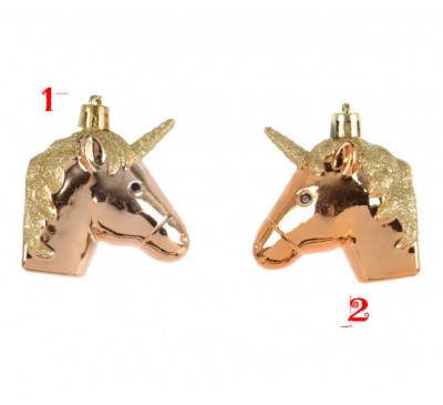 Shatter Proof Unicorn With Hanger 2 Designs to Choose From