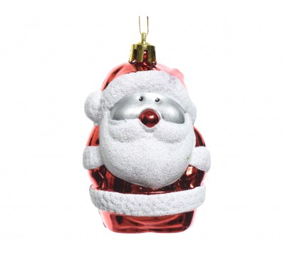 Shatter Proof Santa With Glitter