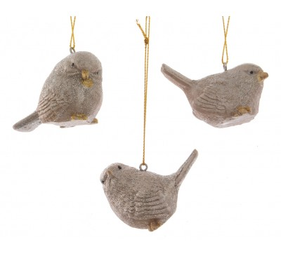 Bird With Hanger gold 3 Designs to Choose From
